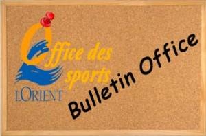 Le Bulletin de L'office des sports de LORIENT